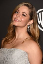 Sasha Pieterse – InStyle and Warner Bros 2015 Golden Globes Party