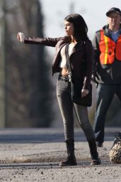 Selena Gomez - on the Set of