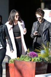 Selena Gomez Street Style - Out in Atlanta, January 2015