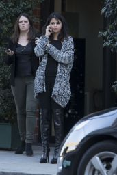 Selena Gomez Style - Leaving Mr Chows in Beverly Hills, January 2015