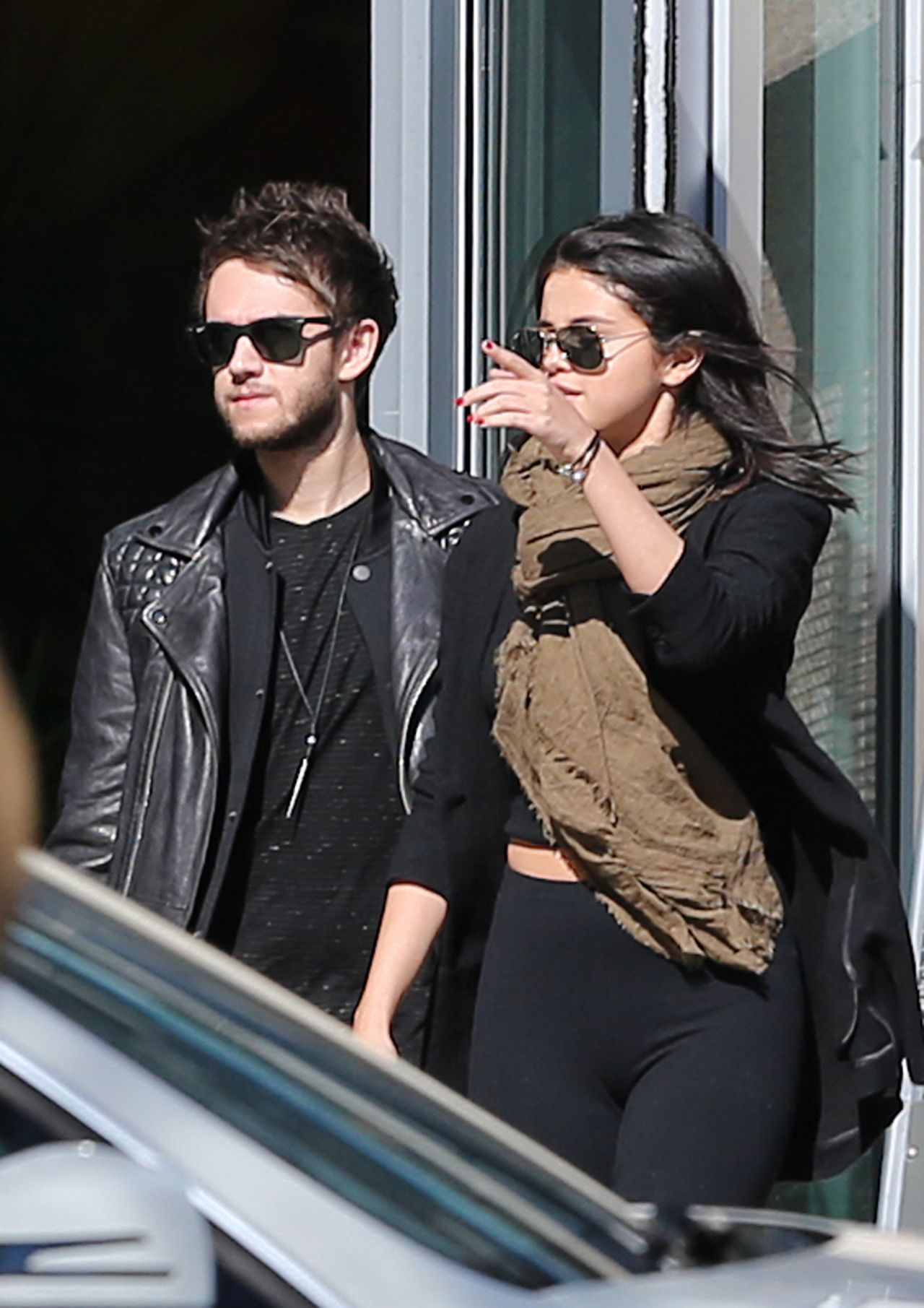 Selena Gomez With Her New Boyfriend Dj Zedd Out In
