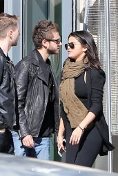 Selena Gomez With Her New Boyfriend DJ Zedd, Out in Atlanta, January 2015