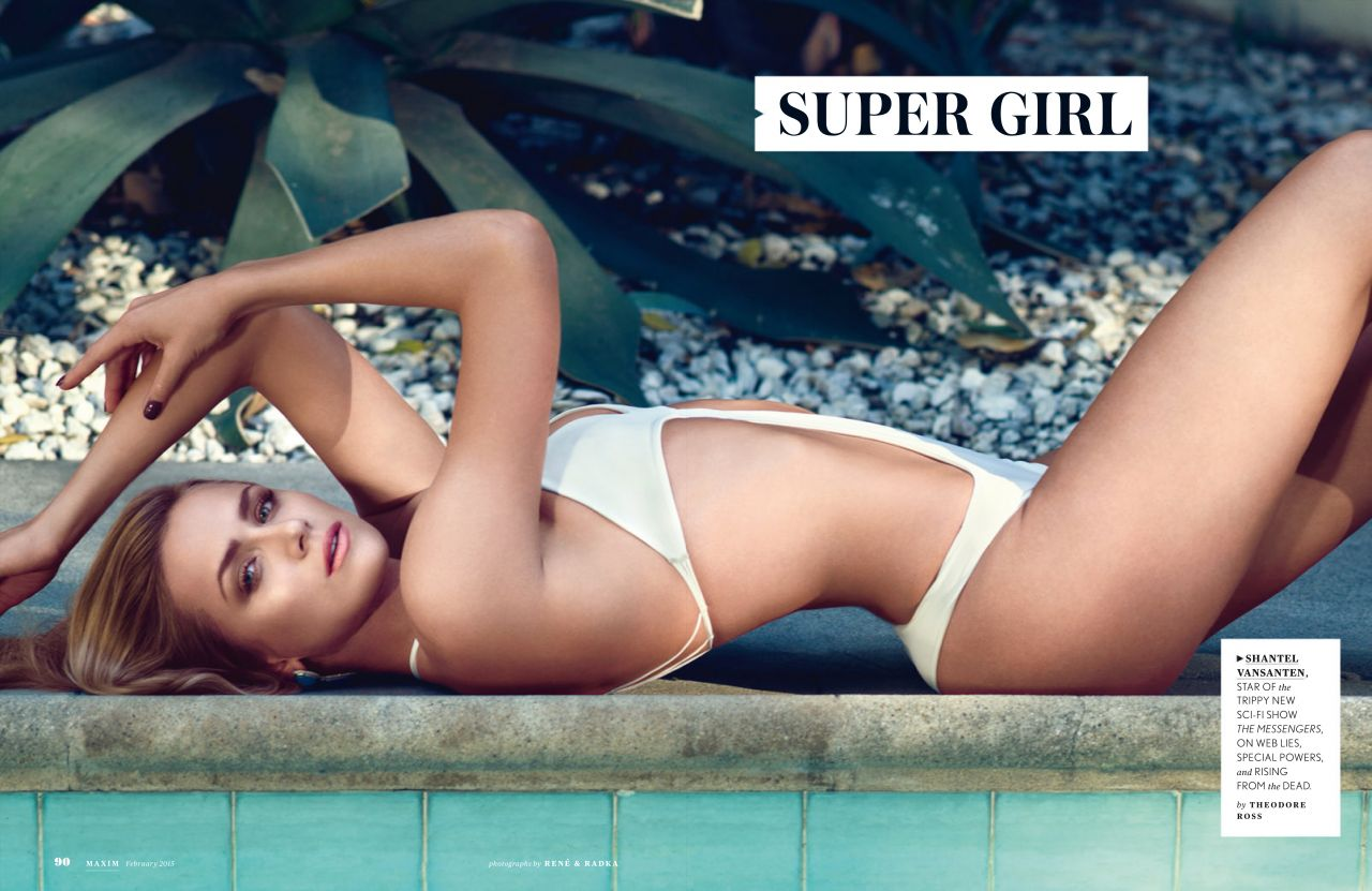 Shantel VanSanten - Maxim Magazine February 2015 Issue