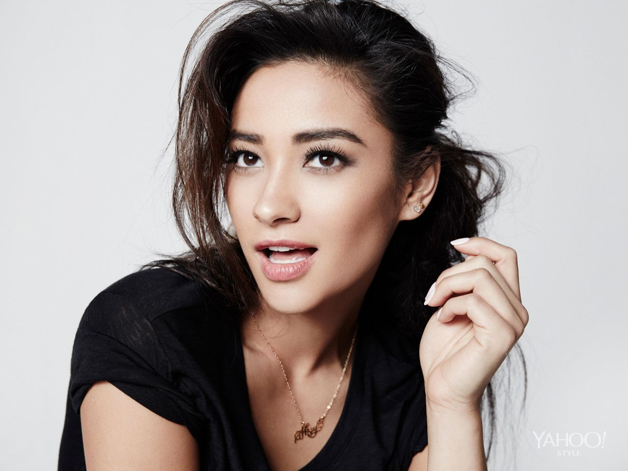 Shay Mitchell - 2014 Photoshoot for Yahoo Style