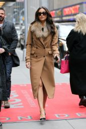 Shay Mitchell Style - Out in New York City, January 2015