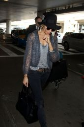 Sienna Miller - at LAX Airport, January 2015