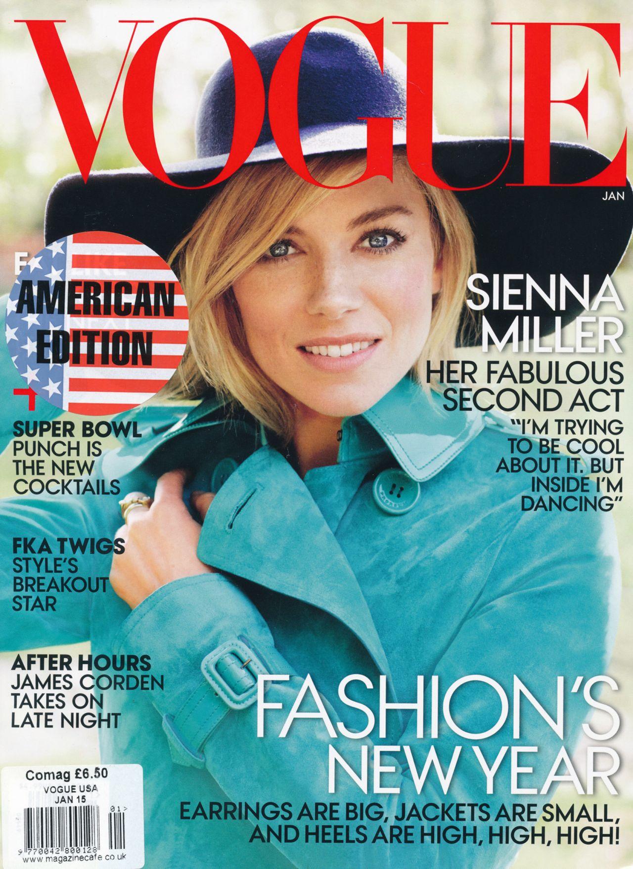 Sienna Miller – Vogue Magazine - January 2015