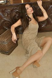 Sofia Hayat - Beige Dress Photoshoot (2014)