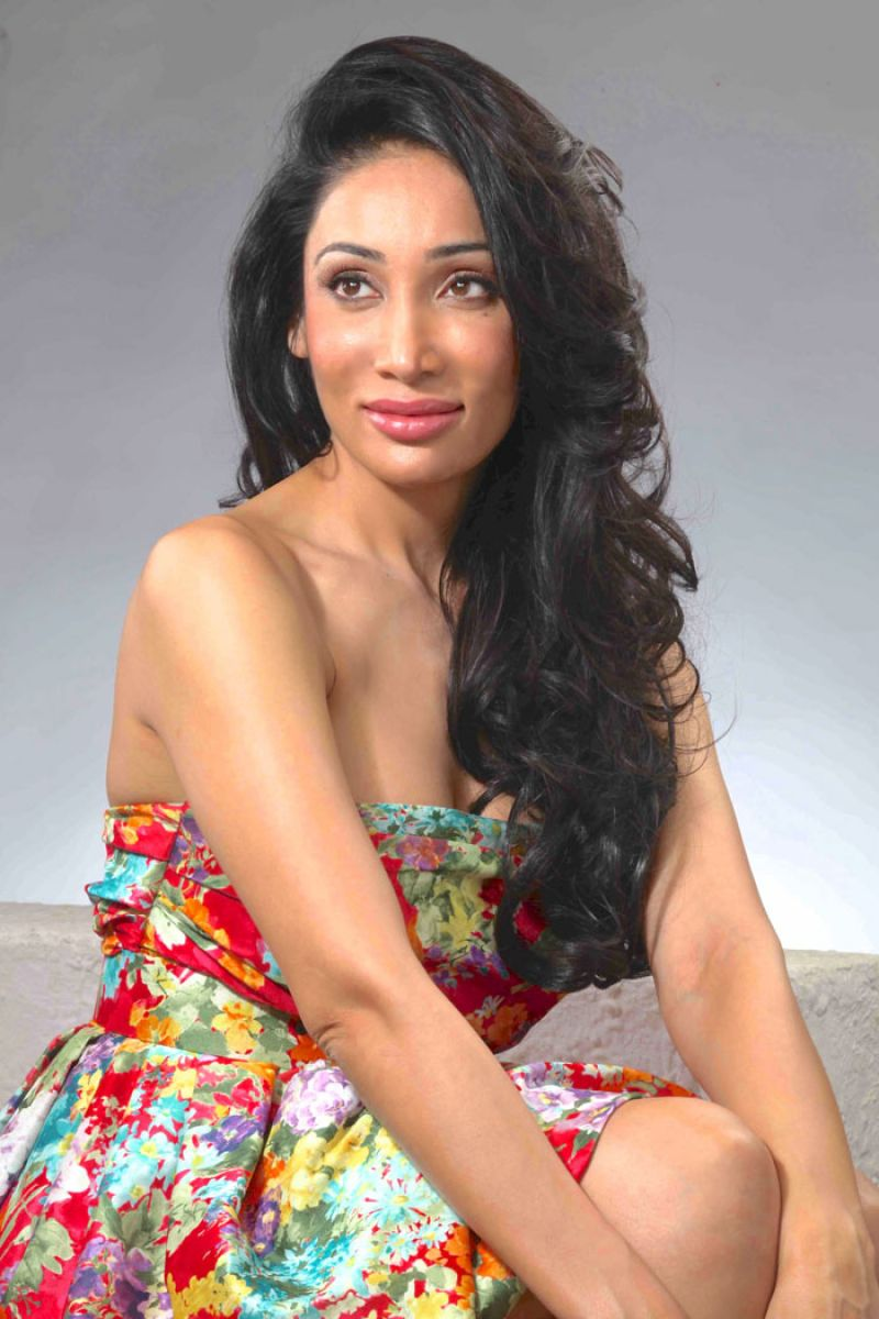 Sofia Hayat - Flowery Summer Dress Photoshoot (2014)