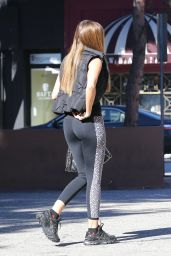 Sofia Vergara Booty in Tights - Out in Beverly Hills, January 2015