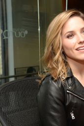 Sophia Bush at SiriusXM Studios in New York City, January 2015