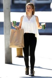 Sophia Bush Style - Out in Los Angeles, January 2015