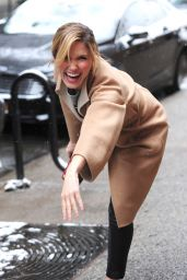 Sophia Bush Winter Style - Being Playful out in New York City - January 2015