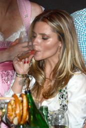 Sophia Thomalla - 2015 White Sausage Party in Kitzbühel (Austria)