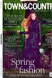 Sophie Turner - Town & Country Magazine (UK) - Spring 2015 Issue