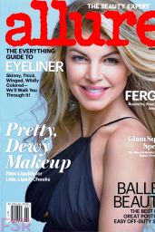 Stacy Ferguson Fergie - Allure Magazine Cover and Photos, February 2015