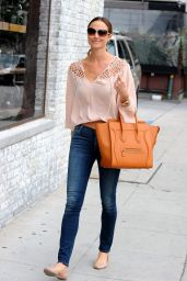 Stacy Keibler Street Style - Out in Los Angeles, January 2015