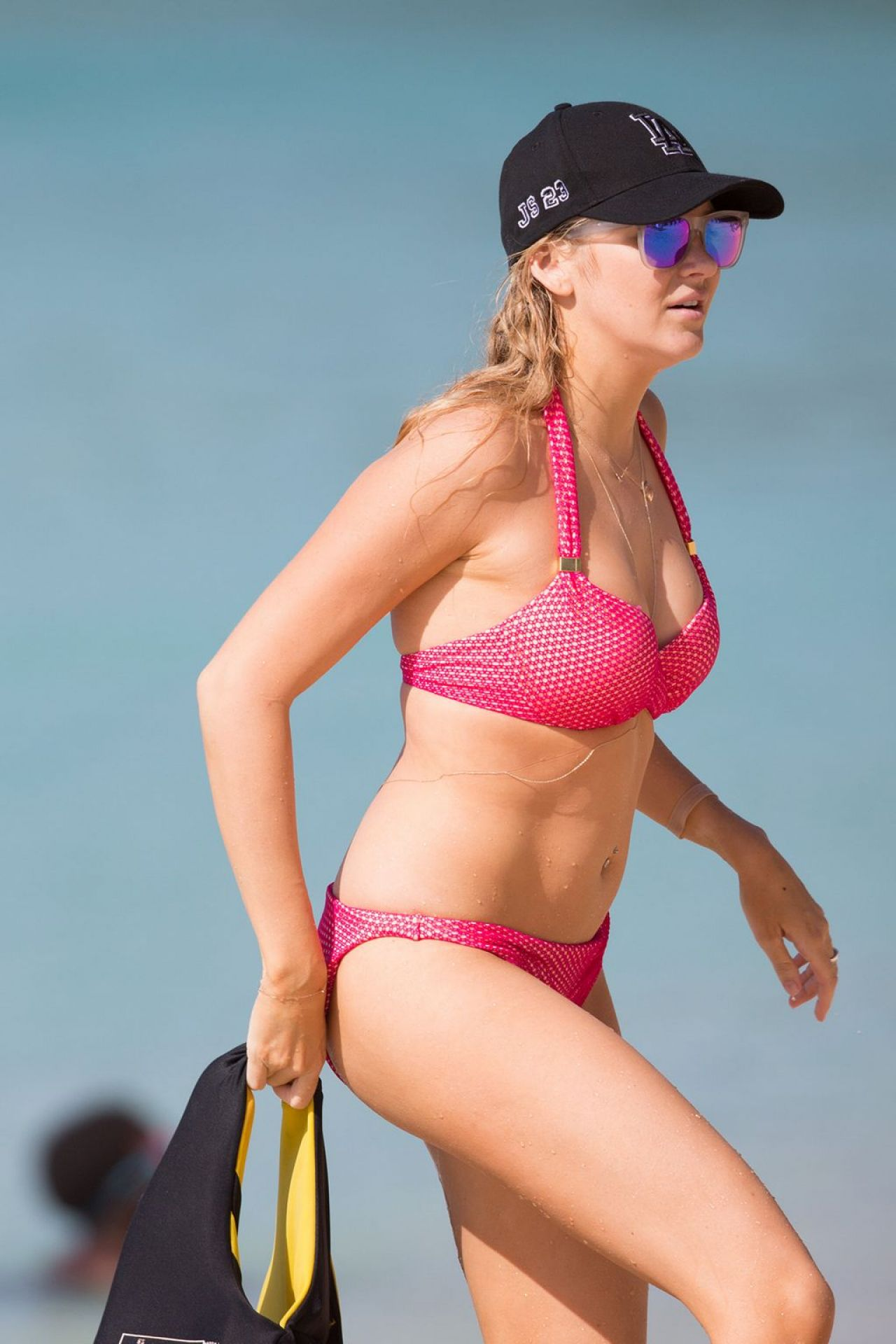 Stephanie Pratt in a Bikini in Barbados, January 2014