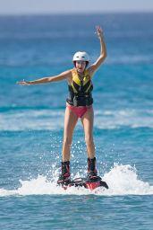 Stephanie Pratt in a Bikini in Barbados, January 2014