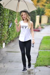 Tammin Sursok - Out in Los Angeles, January 2015