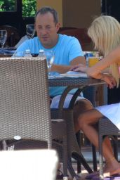 Tara Reid in a Bikini on Vacation - December 2014