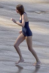 Taylor Swift in a Swimsuit - at the Beach in Maui, January 2015