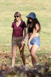 Taylor Swift & Lorde - Hiking in Los Angeles - Jan. 2015