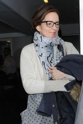 Tina Fey - at LAX Airport, Jan. 2015