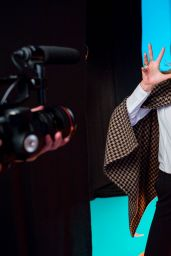 Toni Garrn Photoshoot - PKZ Men & Women Fall/Winter 2014 Campaign