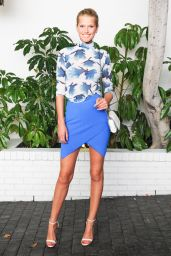 Toni Garrn – W Magazine Celebrates Golden Globes Week 2015 in Los Angeles