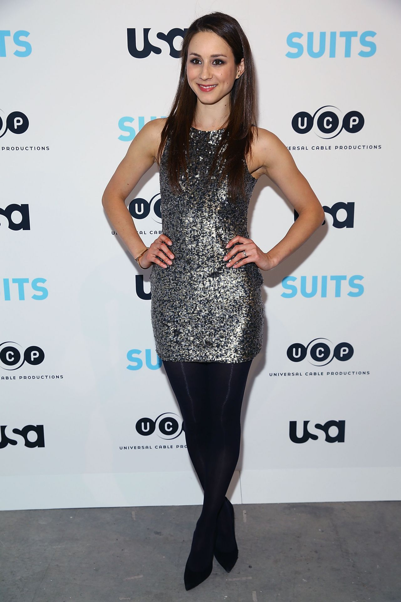 Troian Bellisario - Patrick J. Adams Exhibition Opening of SUITS Gallery in New York City