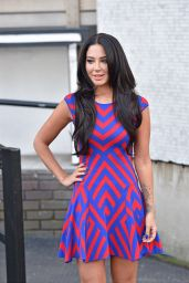 Tulisa Contostavlos Style - Outside the London ITV Studios - January 2015