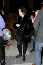 Vanessa Hudgens Leaving the Kennedy Center in Washington, January 2015