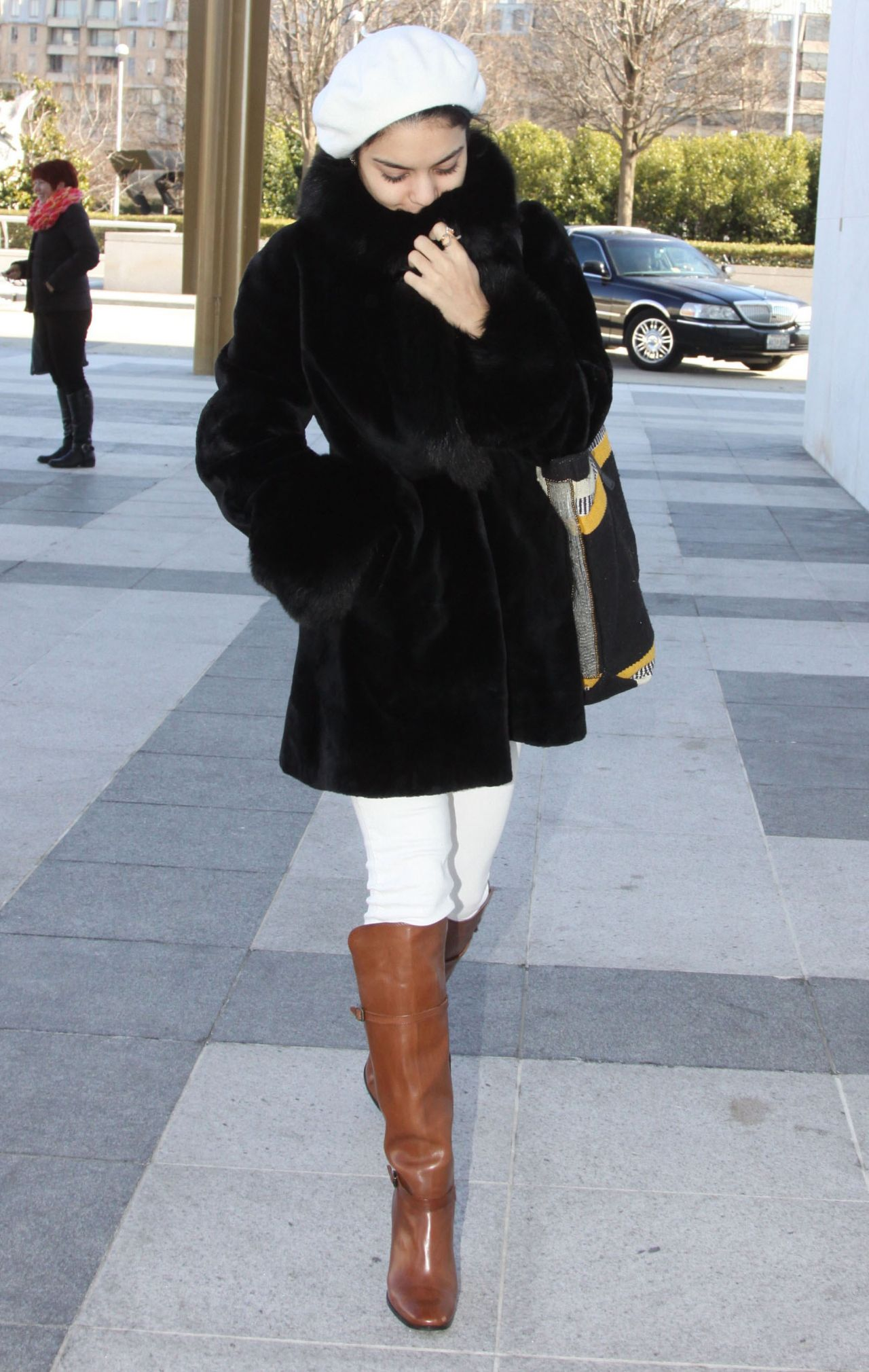 Vanessa Hudgens Style - Out in Washington, DC - January 2015