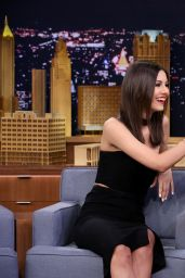 Victoria Justice Leggy - The Tonight Show Starring Jimmy Fallon in New York, January 2015