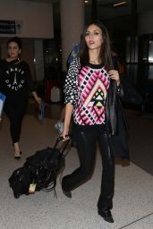 Victoria Justice Style - LAX Airport, January 2015
