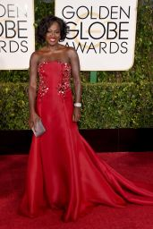 Viola Davis – 2015 Golden Globe Awards in Beverly Hills