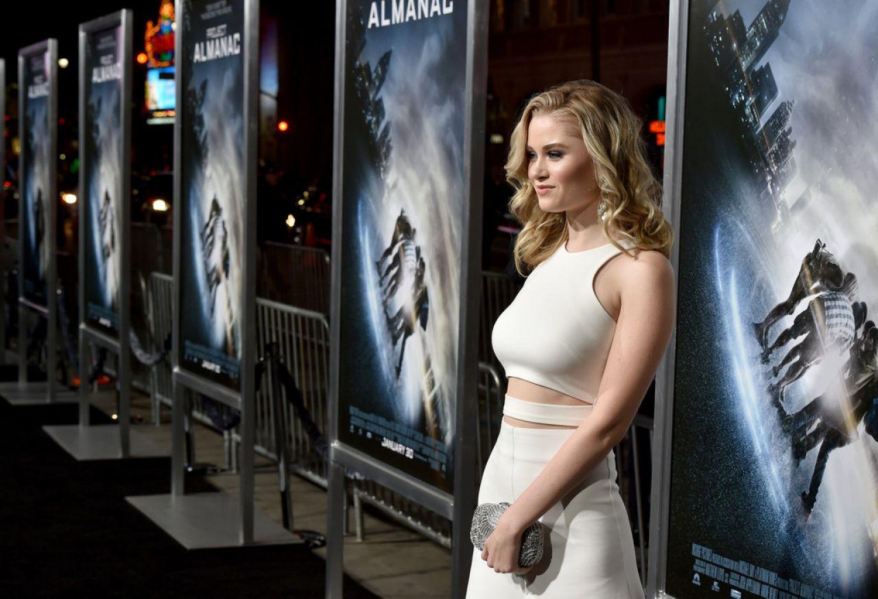Virginia Gardner - 'Project Almanac' Premiere in Hollywood Freida Pinto Height