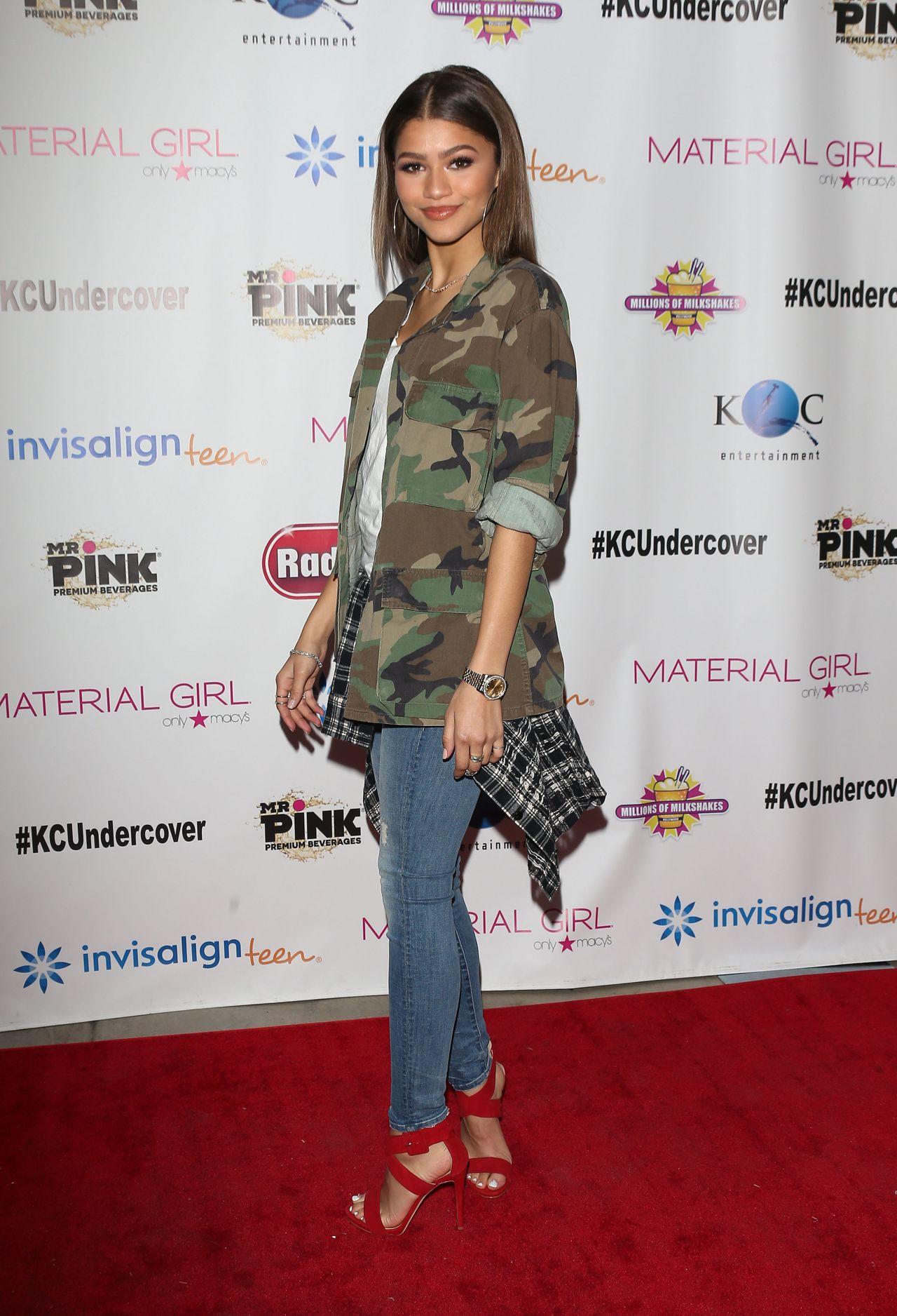 Zendaya Coleman K C Undercover Premier Party In Hollywood