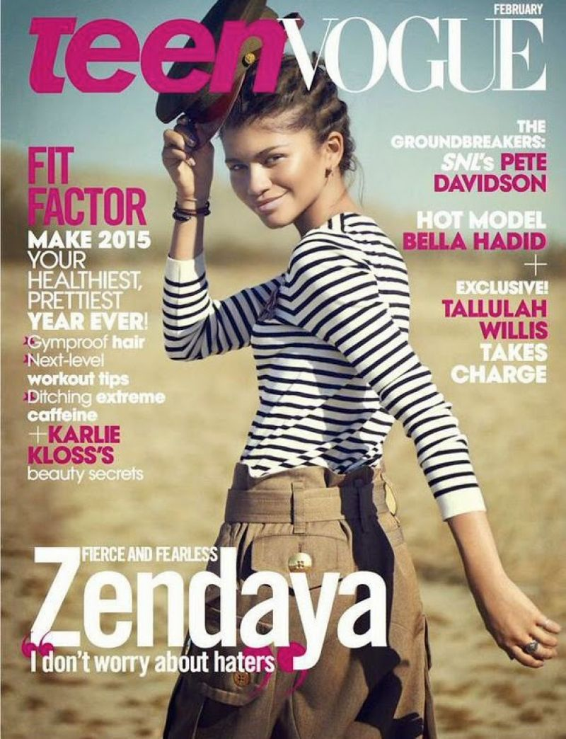 Zendaya Coleman - Teen Vogue Magazine - February 2015 Issue