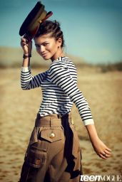 Zendaya Coleman - Teen Vogue Magazine - February 2015 Issue