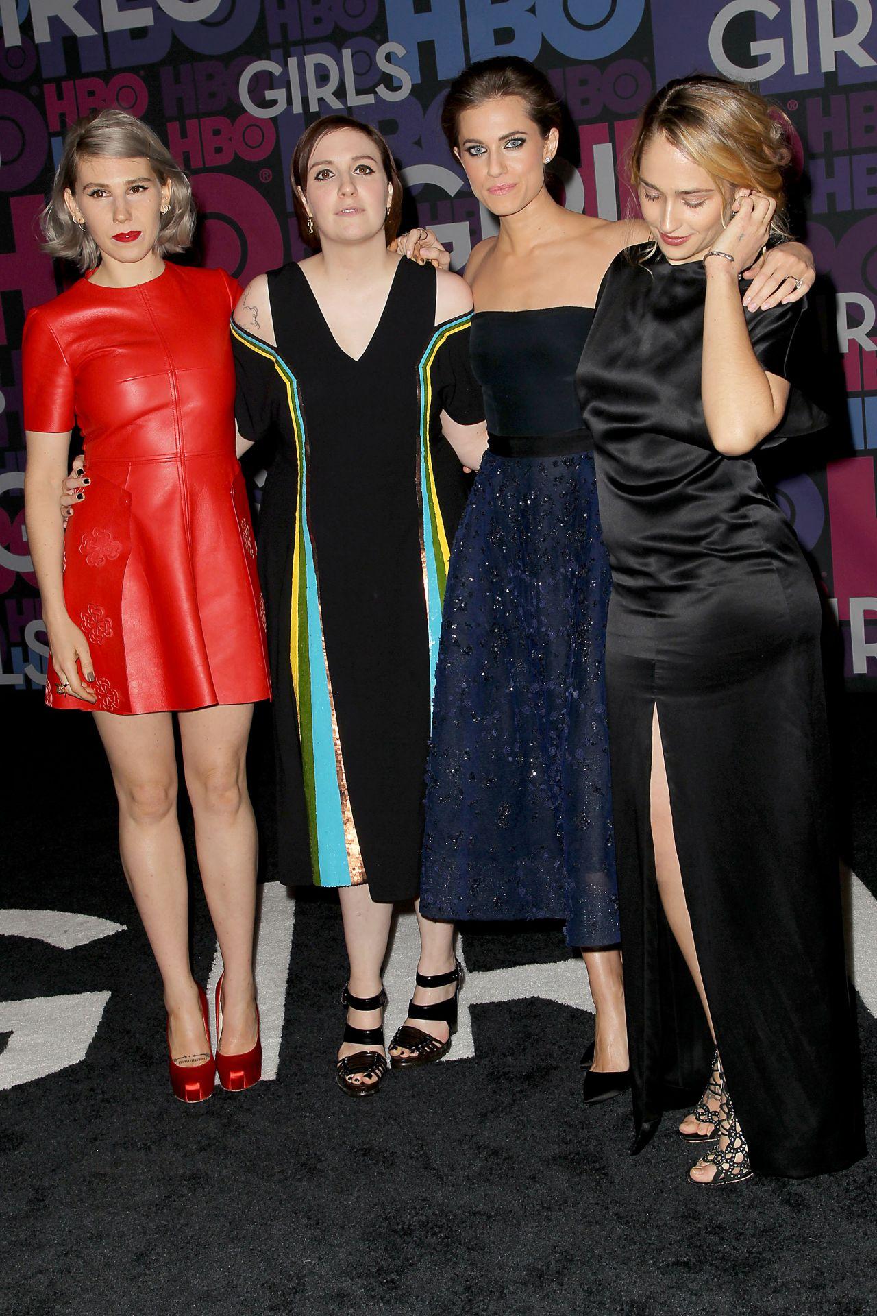 Zosia Mamet        Girls    Season 4 Premiere at Museum of Natural    Zosia Mamet Legs