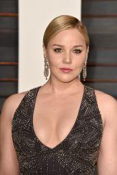 Abbie Cornish - 2015 Vanity Fair Oscar Party in Hollywood