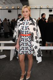 Abbie Cornish – Tanya Taylor Fashion Show in New York City, Feb. 2015