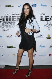 Adriana Lima - 2015 Leather and Laces Superbowl XLIX Party in Phoenix