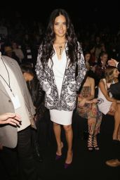 Adriana Lima - Desigual Fashion Show - MBFW Fall 2015 in New York City