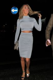 Aisleyne Horgan-Wallace - Playtech Launch Party at Gilgamesh in London, Feb. 2015