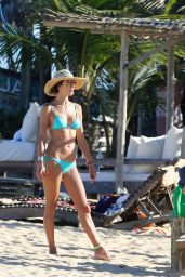 Alessandra Ambrosio Bikini Photos - Bahia in Brazil, February 2015