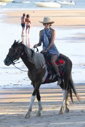 Alessandra Ambrosio Bikini Photos - Bahia in Brazil, February 2015