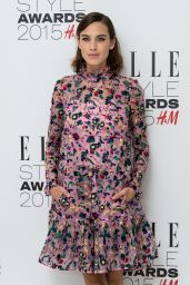Alexa Chung - 2015 Elle Style Awards in London